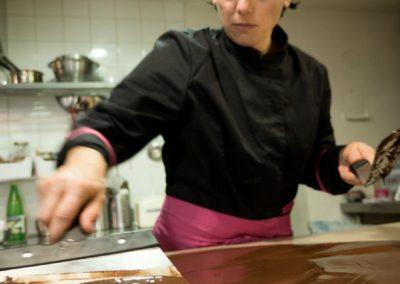 Marbrer le chocolat