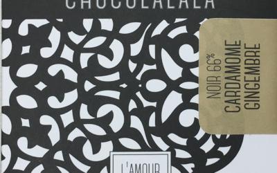 Tablette Noir 66% Cardamone-Gingembre – classique et vrac